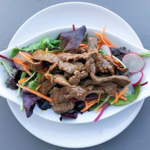 Beef and Ginger Salad